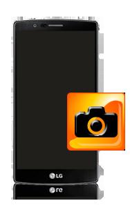 תיקון מצלמה קדמית ואחורית ב LG G4