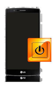 החלפת מנגנון כפתור כיבוי והפעלה LG G4